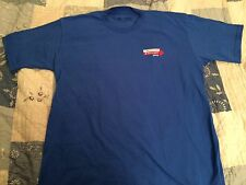 """UNITED BROTHERHOOD of CARPENTERS & HILLARY """"BUILDING A STRONG AMERICA"""" SHIRT XL"""