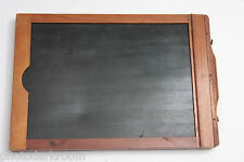 "5x7"" Dry Plate Glass Film Holder Wood - Approx. OD 15x150x206mm - USED LF233"