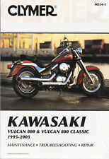 1995-2005 Kawasaki Vulcan 800/Classic VN800 Repair Manual 2002 2003 2004 M3543