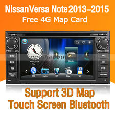 Auto DVD Player Car GPS Radio Stereo Bluetooth for Nissan Versa Note 2013-2015