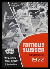 Famous Slugger Yearbook 1972 - Tony Oliva, Willie Stargell Cover - Pee Wee Reese