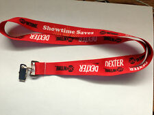 WONDERCON 2013 DEXTER / SHOWTIME LANYARD EXCLUSIVE ONLY AVAILABLE AT WONDERCON!!