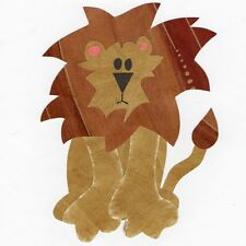 Lion Quilt Applique Pattern / Template Jungle Animal, Safari Animal, Zoo Animal