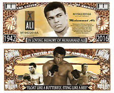 MOHAMED ALI BILLET MILLION DOLLAR US collection BOXE Sport Cassius Clay Boxeur 2