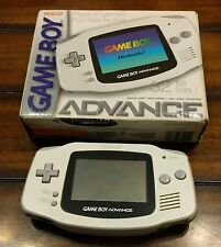 Nintendo Game Boy Advance Artic White Handheld System in Box - GBA