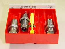 LEE 90509 9MM LUGER 9X19  3 DIE CARBIDE DIE SET (Ships Priority Insured)