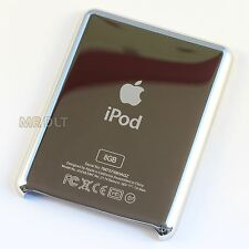 New 8GB Silver Back For iPod Nano 3rd Generation 3G Rear Housing - UK Seller