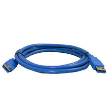 1PC USB 3.0 Male Plug To Female Socket Super Fast Extension Cable Cord 2m