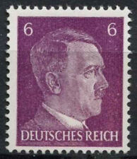 Germany Third Reich 1941-42 SG#773 6pf Red Violet Adolf Hitler Shade 3 MNH#D5814