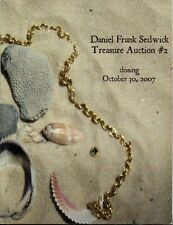 Daniel Frank Sedwick Treasure Auction 2, October 2007, shipwreck treasure coins