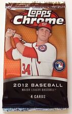 2012 Topps Chrome Baseball Pack (Bryce Harper Rookie RC Refractor Auto 1/1)?