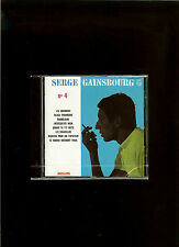 SERGE  GAINSBOURG :{ CD} 4°-Serge GAINSBOURG N°4- [neuf  &  scellé]   (1962)