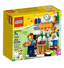 LEGO set : Easter Egg Painting 40121 - BNIB 153 Pieces 2 mini figure and a Hen