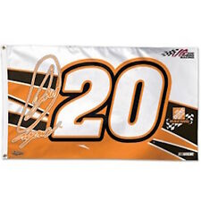 JOEY LOGANO #20 HOME DEPOT NASCAR 2-Sided 3' x 5' FLAG WINCRAFT RACING