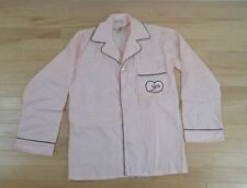 Nick @ nite i love lucy womens size small pajama  top blouse shirt