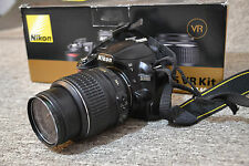 Nikon D3100 14.2 MP Digital SLR Camera - Black (w/ AF-S DX VR 18-55mm Lens)#8207