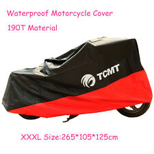 UV Protector Waterproof Outdoor Motorbike Rain Dust Bike Motorcycle Cover XXXL