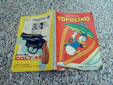 TOPOLINO LIBRETTO N.419 ORIGINALE MONDADORI 1963 MB/OTTIMO CON BOLLINO E CEDOLA