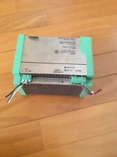 PHOENIX CONTACT QUINT 10 POWER SUPPLY PS-120AC/24DC/10 120VAC *USED*