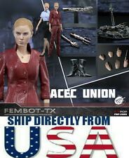 1/6 Terminator 3 T-X Figure Kristanna Loken Full Set For Hot Toys  U.S.A. SELLER