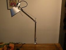 Authentic Tolomeo Mini Incandescent Table Lamp with Desk Clamp by Artemide