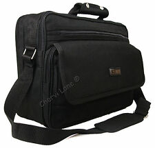 High Quality Black Mens Womens Flight Cabin Hand Luggage Carry Case Holdall Bag