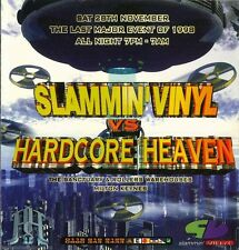 SLAMMIN VINYL VS HARDCORE HEAVEN - 28TH NOVEMBER 1998 (HARDCORE CD'S)