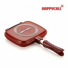 [Happycall] double sided pressure pan-standard, cuty, red, cooking, happy call
