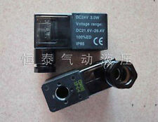 Electrical Pneumatic 4V110 Solenoid Valve Coil AC 220V With Lamp