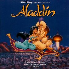 Aladdin: Original Walt Disney Records Soundtrack CD 1992 Menken & Ashman
