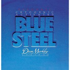 Dean Markley 2556 Blue Steel Gauge Cryogenic Electric Guitar Strings 10-46