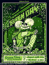 Green Day Franz Ferdinand mini Art Poster Print The Forum American Idiot Dookie