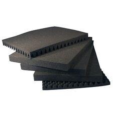 Koffer einlagen Noppen Raster Schaum stoff SET ca. 48x37x19 cm (61506)