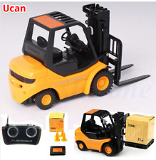 New Mini RC Toy Fork Lift Radio Remote Control Forklift Truck Crane Car Kid Toys