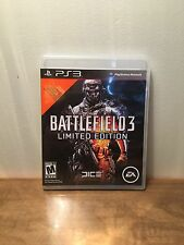 Battlefield 3 -- Limited Edition (Sony PlayStation 3, 2011) PS3, Complete