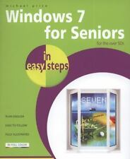 Windows 7 for Seniors in easy steps: For the Over 50s Price, Michael Paperback