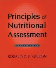 Principles of Nutritional Assessment by Rosalind S. Gibson (2005, Hardcover,...