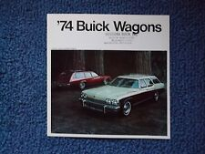 1974 Buick Station Wagon Folder