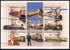 Chad 1998 Trasnport Locomotives MNH --(cv 7)