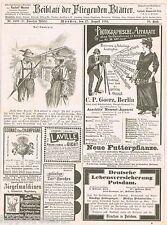 Werbung Cognac Revolver Goerz Schmuck Schöne Kleinanzeigen 1893 Reklame (24)