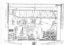 CONCORDE - SET A of Six Rare Engineering drawings, Flight Deck Windows and Visor