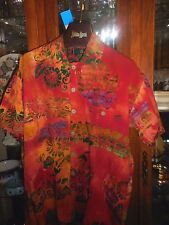 Tropical Tantrum FAB Hawaiian Asian Shirt NEW NWT S