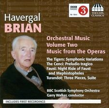 Havergal Brian: Orchestral Music, Vol. 2 - Music from the Operas (CD,...