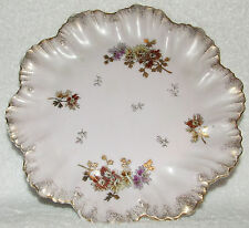 """RARE ANTIQUE CARLSBAD * BFHS * CHINA AUSTRIA 8"""" COLLECTIBLE PLATE C. 1896-1901"""
