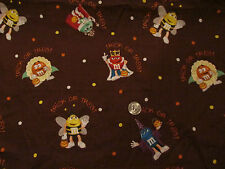 M&M Candy fabric Halloween Fun & Scary costumes quilting cotton SALE