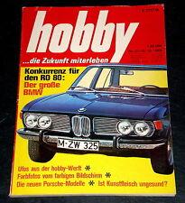 Hobby 21/68 BMW 2500,Porsche 911 mit Einspritzmotor,Elektroauto,Das Getriebe,UFO