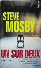 Un sur Deux - Steve Mosby - Thriller - 500 raisons d'aimer - Un jeu sur l'amour