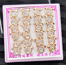 Fashion Lovely 12 Pairs Mickey Earrings Wholesale Lot ED008