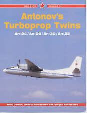 Red Star Volume 12 - Antonov's Turboprop Twins - An-24 An-26 An-30 An-32, Gordon