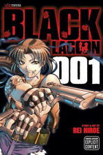 BLACK LAGOON 001 Manga Graphic Novel by REI HIROE - HIGH ACTION JAPAN -208pages